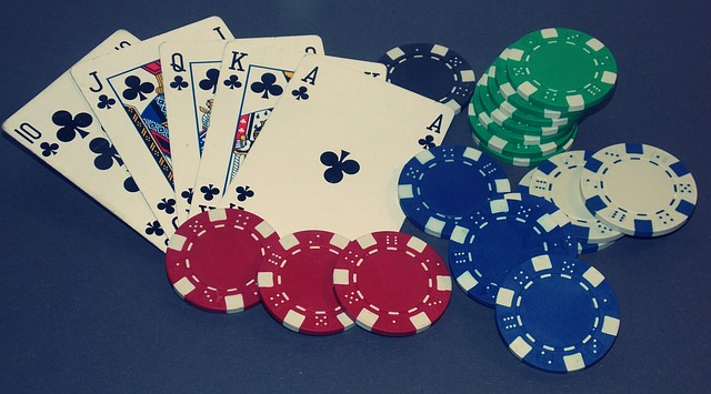 Participate in Texas Hold 'em Poker